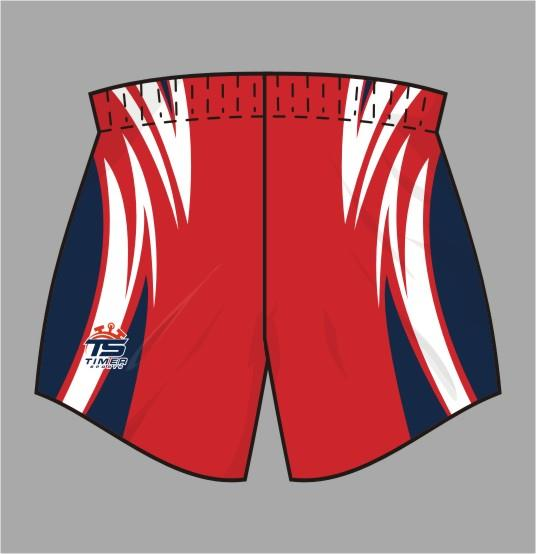 Rugby League Shorts 04