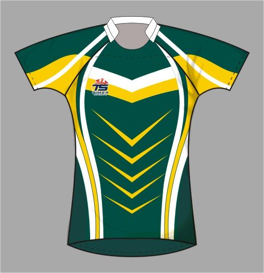 Rugby Union Pro Fit Jerseys 12