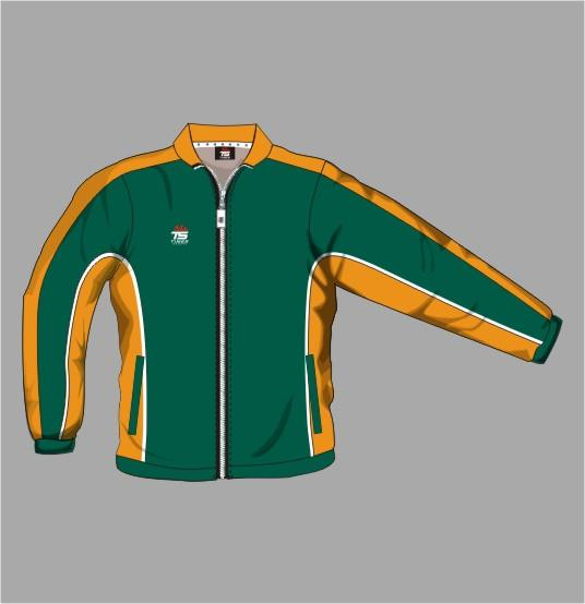 Tracksuit Jacket Off Field 01