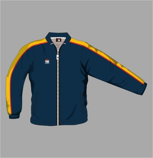 Tracksuit Jacket Off Field 02