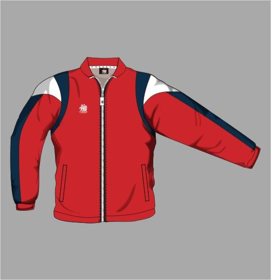 Tracksuit Jacket Off Field 06