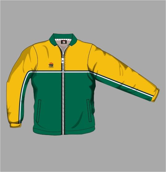 Tracksuit Jacket Off Field 11